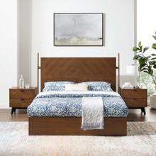 See Details - Kali 3-Piece Bedroom Set in Walnut