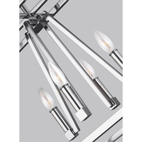 Conant Linear Chandelier Chrome