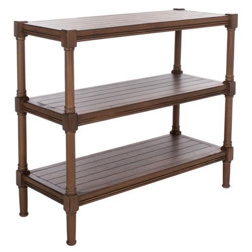 Safavieh - Rafiki 3 Shelf Console Table - Brown