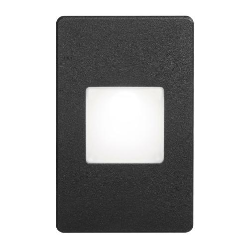 Product Image - Black Rectangle In/outdoor 3w LED Wal