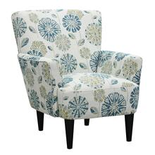 Flower Power Accent Chair, Cascade Teal U3535-05-04
