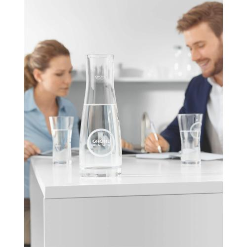 Blue Grohe Blue Water Glasses (6 Pieces)
