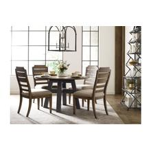 """Layton 52"""" Round Dining Table - Complete"""