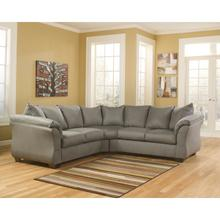 Signature Design by Ashley Darcy Sectional in Cobblestone Microfiber [FSD-1109SEC-COB-GG]