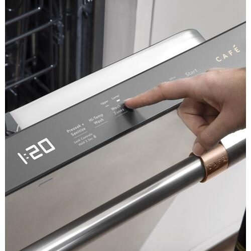 Café Stainless Steel Interior Dishwasher with Sanitization and Ultra Dry