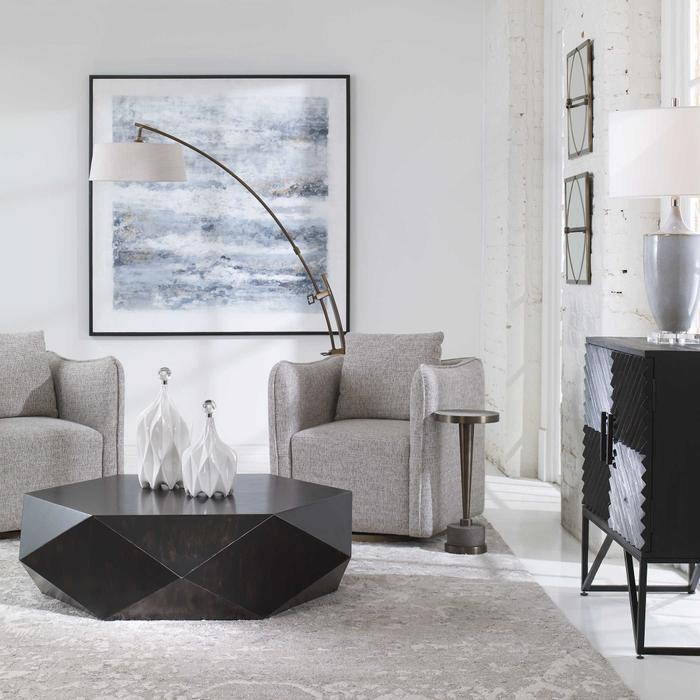 Uttermost - Calogero Floor Lamp