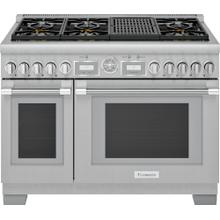 Gas Professional Range 48'' Pro Grand® Commercial Depth PRG486WLG