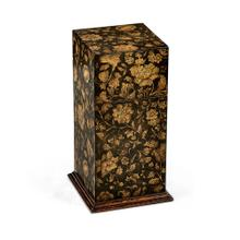 Single Glass Decanter & Black Chinoiserie Case