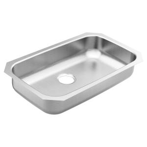1800 Series 30.25 x 18.25 stainless steel 18 gauge single bowl sink Product Image