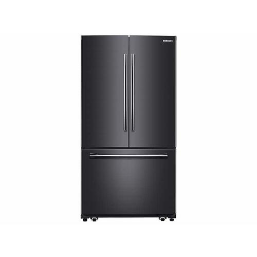 Samsung - 26 cu. ft. French Door Refrigerator with Internal Filtered Water in Black Stainless Steel