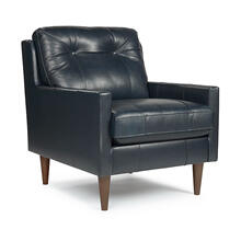 TREVIN Leather Club Chair (Available in 3 Leather Colors!)