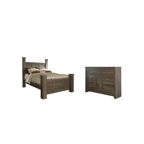 Product Image - Queen Poster Bed With Dresser