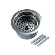 Traditional - Complete Stopper & Strainer Unit Waste Disposer Trim - Extended Flange