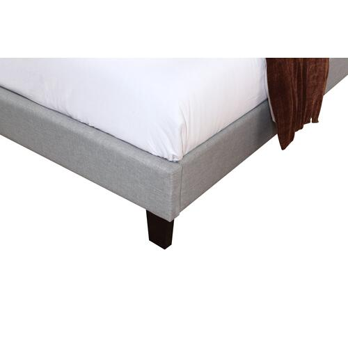 Emerald Home Madison Upholstered Bed Kit Queen Light Gray B131-10hbfbr-03-my