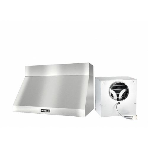 "DAR 1230 Set 18 Wall-Mounted Range Hood with Extraction Mode with external XXL motor including 6"" chimney cover."