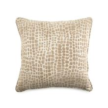 Toss Pillow with a Brown Animal Print