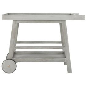Renzo Indoor / Outdoor Bar Cart - Grey Wash