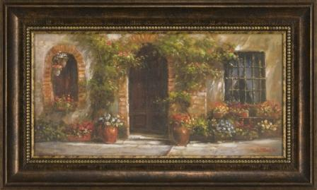 Arch Door With Flowers