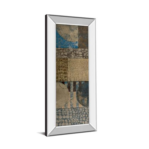 "Classy Art - ""Bubble Structure I"" By John Kime Mirror Framed Print Wall Art"