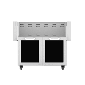 "30"" Hestan Outdoor Tower Cart with Double Doors - GCD Series - Stealth"