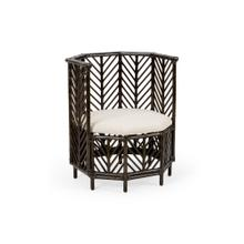 See Details - Angelica Chair - Black Wash