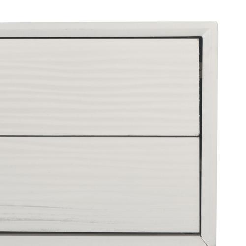 Safavieh - Aliyah 4 Drawer Console Table - White
