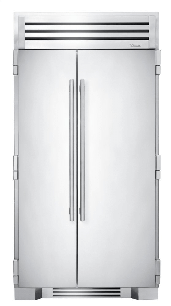 42 Inch Solid Stainless Door Side-by-Side