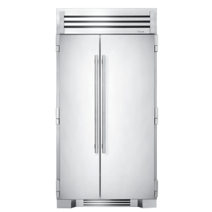 True Residential42 Inch Solid Stainless Door Side-by-Side