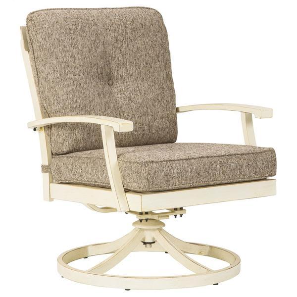 Preston Bay Swivel Lounge With Cushion (set of 2)