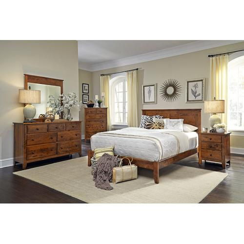 Shenandoah Headboard with Wood Frame, Queen