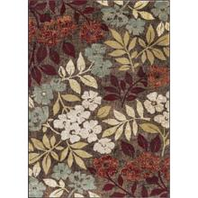 Deco - DCO1308 Brown Rug (Multiple sizes available)