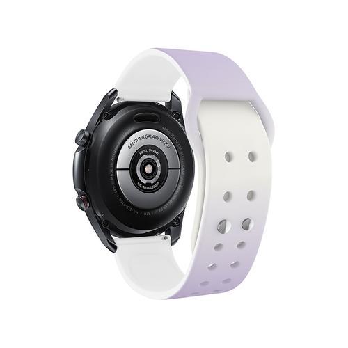 Samsung - Galaxy Watch4, Galaxy Watch4 Classic, Sami Mir Vintage Eco-Friendly TPU Band, S/M, Aurora Night
