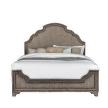 View Product - Bristol Queen Panel Bed Headboard in Elm Brown