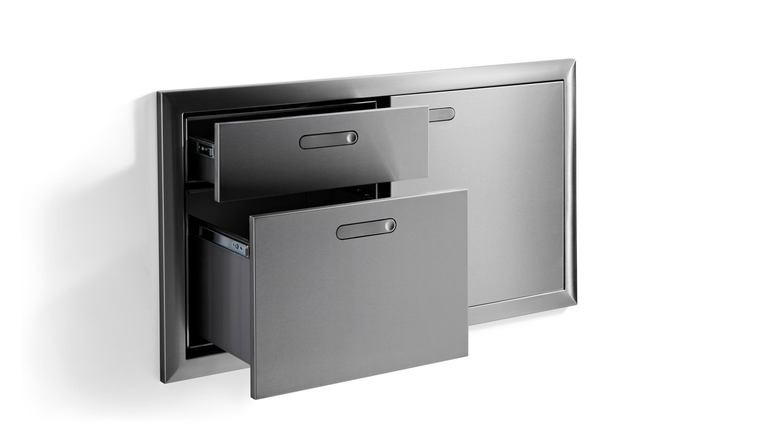 """42"""" Storage door & double drawer Photo #4"""