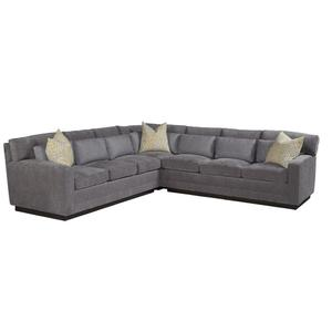 """T/P Modern Arm Sectional (5"""")"""