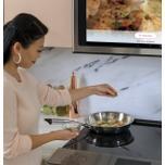 "Cafe Appliances Caf(eback) 30"" Smart Slide-In, Front-Control, Induction And Convection Range In Platinum Glass"