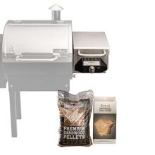 Sear Box, Grill Cover, & Pellet Bundle
