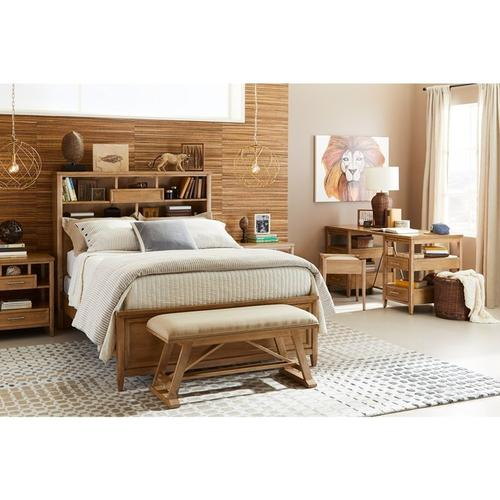 Chelsea Square French Toast Full Bookcase Bed