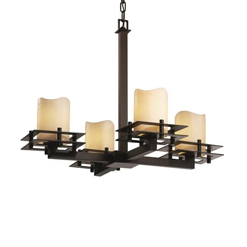 Metropolis 4-Light Chandelier
