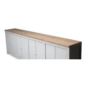 Eight Is Enough Sideboard, Ant. White