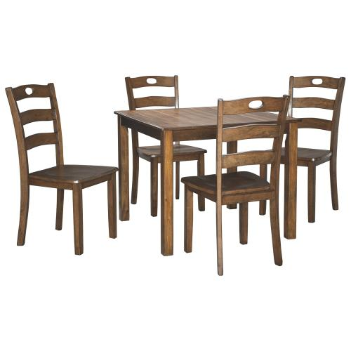 Hazelteen Dining Room Table and Chairs (set of 5)
