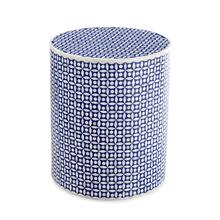 Blue Bone Accent Table