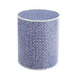 Blue Bone Accent Table
