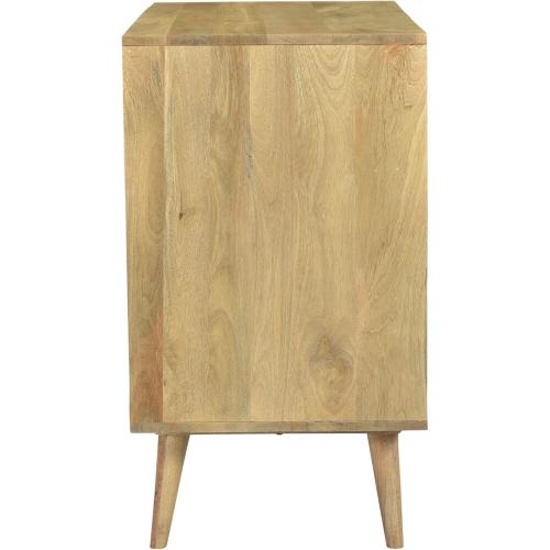 Cambridge Parkview 3-Drawer Mango Wood Chest in Natural, 33.5-In. W x 18-In. D x 31.5-In. H, 988010-NAT
