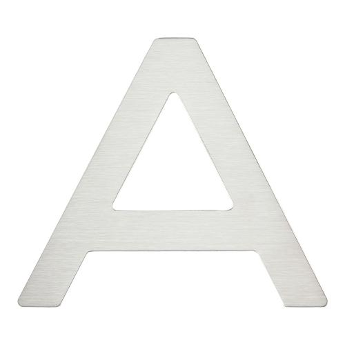 Paragon Letter A - Stainless Steel