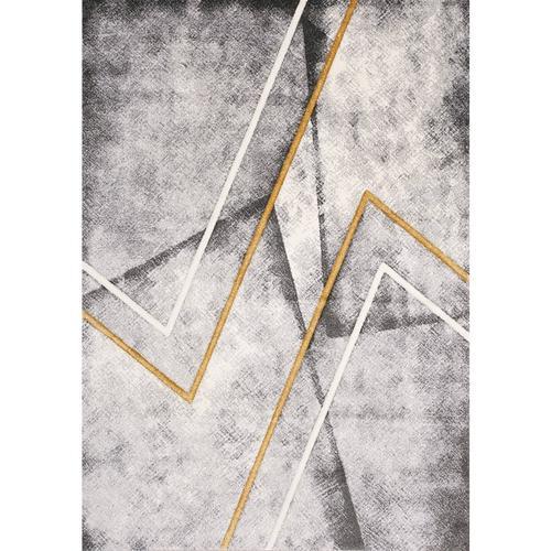 Soho 8946 Grey White Yellow 8 x 11