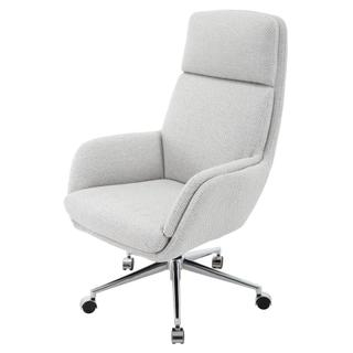 Presley KD Fabric Office Chair, Cardiff Gray