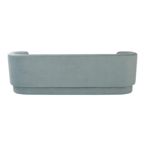 Macie Sea Blue Velvet Sofa