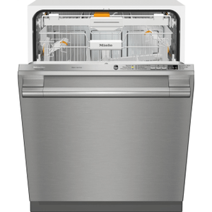 Fully-integrated, full-size dishwasher with hidden control panel, 3D+ cutlery tray and CleanTouch Steel panel Product Image
