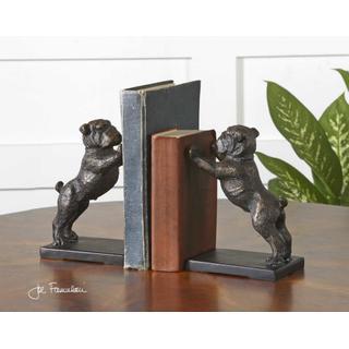 Bulldogs Bookends, S/2